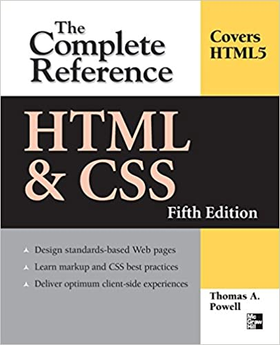 Best Html Books Pdf