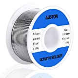 AUSTOR Tin Lead Rosin Core Solder Wire 100g, 1.0mm