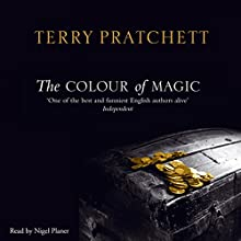 The Colour of Magic: Discworld 1 Audiobook by Terry Pratchett Narrated by Nigel Planer