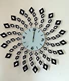 Cheap Handmade Decorative Larger Metal Wall Clock (spin)