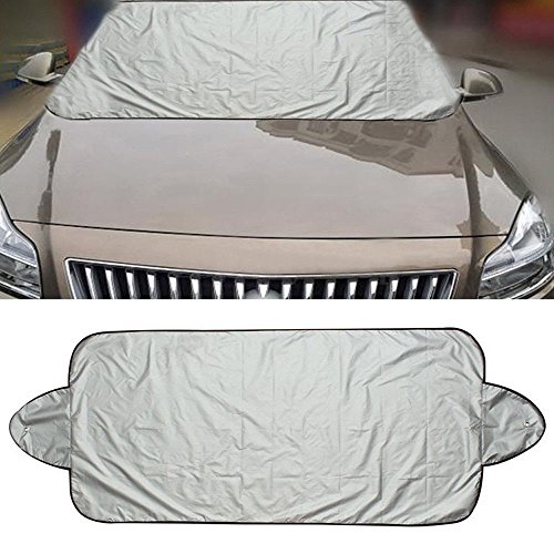 Staron Snow Cover Windshield for Car, Protect You Car - Windshield Cover Cars Snow Ice Protector Visor Sun Shade Front Rear Car Cover Block Shields (150x70cm) by Staron  (Image #1)