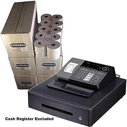 eposbits® marca rollos para Casio SE-S10 caja registradora SES10 ...