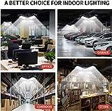 2 Pack LED Garage Lights,80W Deformable Led Garage