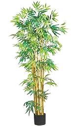Nearly Natural 5179 Bambusa Bamboo Silk Tree, 5-Feet, Green