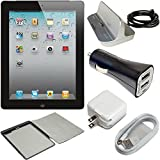 Apple iPad 2 16GB with Wi-Fi MC769LL/A Power Bundle, Includes Apple Power Dock for iPad/iPhone/iPod, 2.1amp Dual USB Car Charger & Battery Case with Protective Smart Cover (Certified Refurbished)