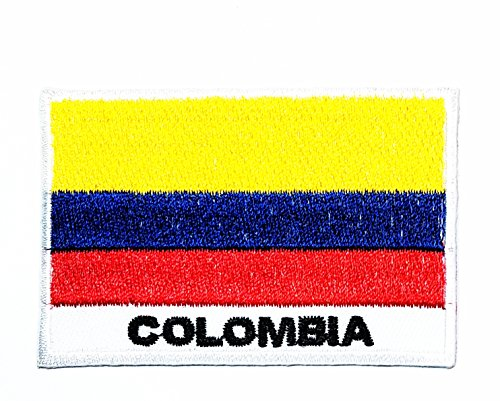 HHO Colombia Country Flag Patch National Flag