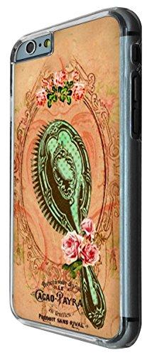 542 - Vintage Shabby Chic Victorian Mirror Brush Design iphone 6 PLUS / iphone 6 PLUS S 5.5'' Coque Fashion Trend Case Coque Protection Cover plastique et métal