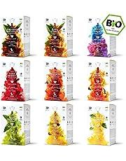 Bestsellerbox - 9 x 16 Teekapseln von My-TeaCup | Kompatibel mit Dolce Gusto®*-Maschinen | 100% kompostierbare Kapseln ohne Alu | 144 Kapseln 9 Sorten