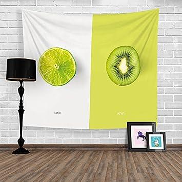 Kreative Obst Und Gemüse Tapisserie Hängen Dekorative Tuch Hintergrund Tuch  Wand Dekorative Tuch Tischdecken Schlafzimmer Küche