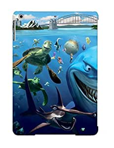Ipad Air Case, Premium Protective Case With Awesome Look - Finding Nemo Underwater Kingdom