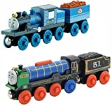 Fisher-Price Thomas the Train Wooden Railway Ferdinand AND Patchwork Hiro