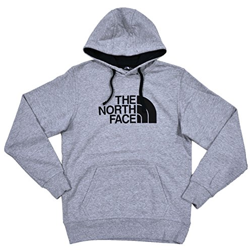 The North Face Men's 80/20 Half Dome Pullover Hoodie Light Grey/Black ()