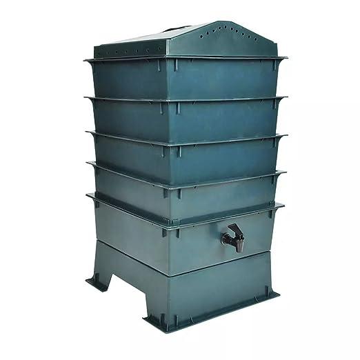 Xinglieu compostaje Basura vermicompostaggio Caja Compost ...