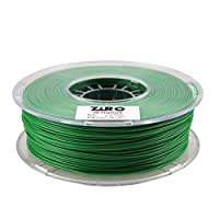 ZIRO 3D Printer Filament PLA 1.75 1KG(2.2lbs), Dimensional Accuracy +/- 0.05mm, Green by ZIRO