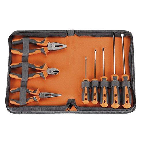 Alyco - Juego 8 Piezas Alicates+Destornillador 170512: Amazon.es: Bricolaje y herramientas