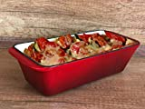 WEES-CK Enameled Cast Iron Loaf Pan, Bread Baking