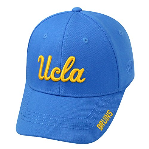 Top of the World NCAA-Premium Collection-One-Fit-Memory Fit-Hat Cap-UCLA Bruins