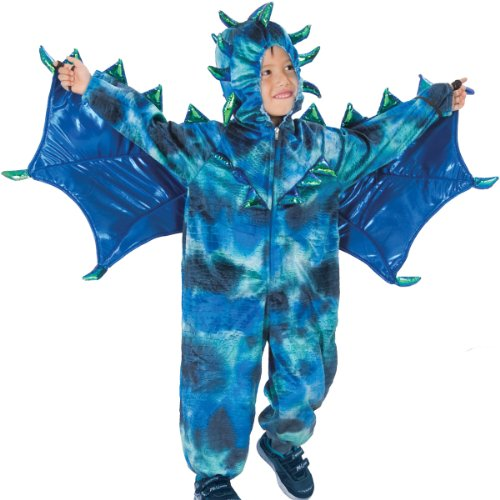 Princess Paradise Sully the Dragon Costume, Small (Kids Plush Dinosaur Wings Costume)