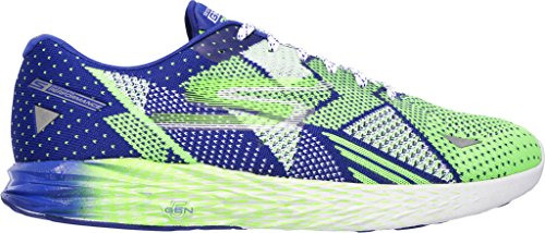 Blue Track corsa imbottito Meb Go Green scarpe Skechers mens traspirante Razor da qP6x6a