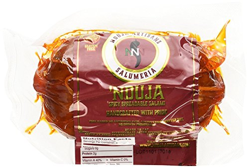 NDUJA ARTISANS Spreadable Salami Spicy, 6 OZ (Pack - 1)