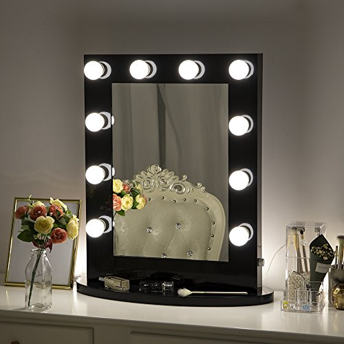 Hollywood Lights Bathroom: Chende Hollywood Makeup Vanity Mirror With Light Tabletops