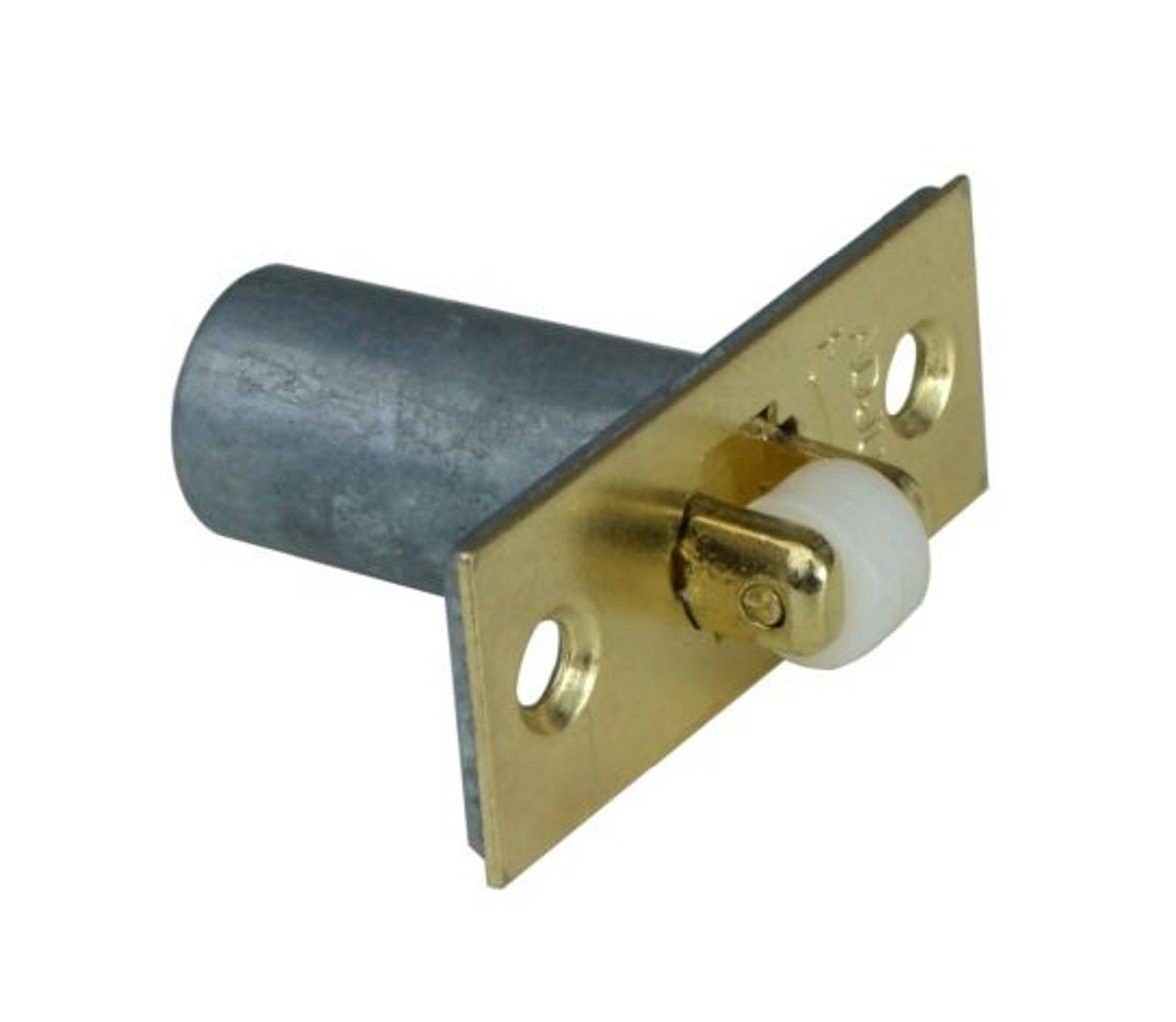 BRASS Adjustable Roller Catch Mortice Door Spring Ball Latch /& Strike Plate