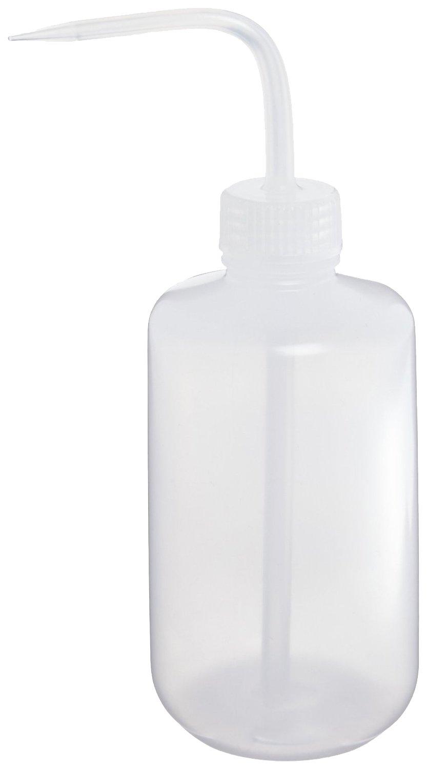 Nalgene Low-Density Polyethylene Economy Wash Bottles with Polypropylene Screw Closure/Stem and Draw Tube, 1000ml Capacity (Case of 12)