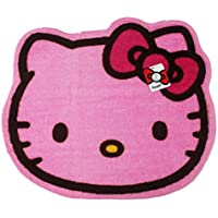 Pink Colored Hello Kitty Floor Rug