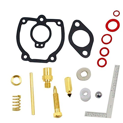 iFJF Carburetor Repair Kit for IH International Harvester and Farmall Tractor M (Tractor Seat Farmall)