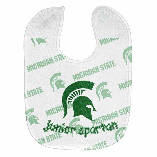 NCAA Michigan State Spartans  Full Color Mesh Baby Bib
