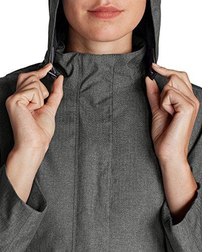 Eddie Bauer Women's Girl On The Go Insulated Trench Coat, Black M Regular by Eddie Bauer (Image #6)