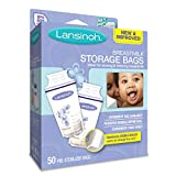 Lansinoh Breastmilk Storage Bags, 50 Count, BPA Free and BPS Free