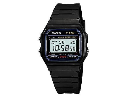 british designer watches o8qa  Casio F-91W-1YER Men's Resin Digital Watch