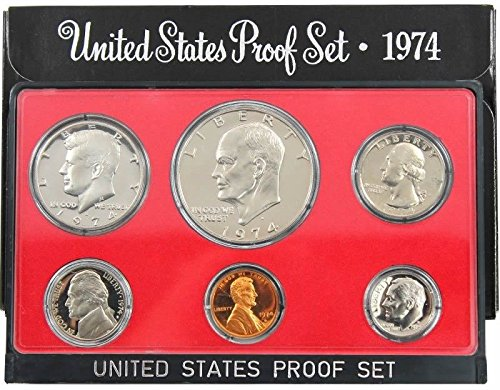 1974 S US 5 Piece set Proof In original packaging from mint Proof