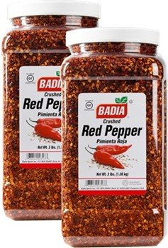 Badia Pepper Red Crushed 3 lbs Pack of 2 by Badia