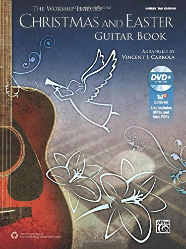 The Worship Leader's Christmas and Easter Guitar Book: Guitar TAB (Book & MP3 CD) (Guitar Mp3)