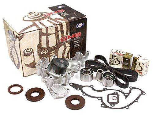 (Evergreen TBK190WP Fits 90-97 Lexus LS400 SC400 V8 4.0L DOHC 1UZFE Timing Belt Kit GMB Water Pump)
