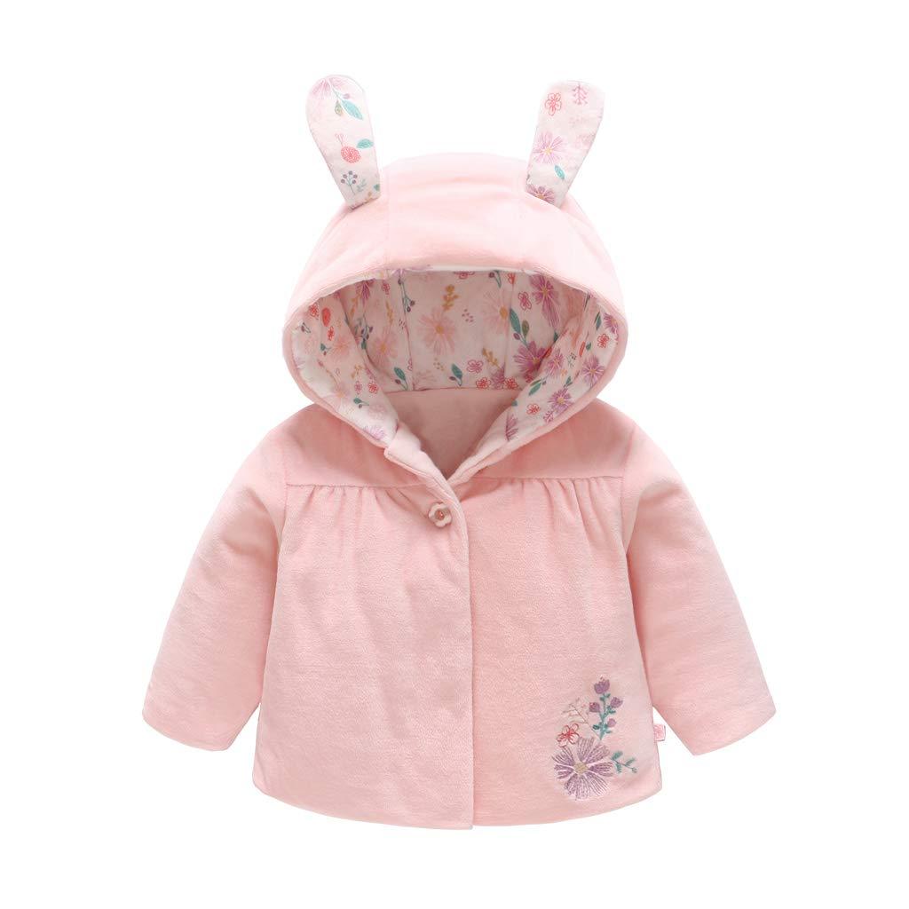 Bambino Ragazze Inverno Giacca con Cappuccio Spesso Cappotto Caldo Capispalla Outfits 3-6 Mesi Shenzhen Windy Trading Co. Ltd