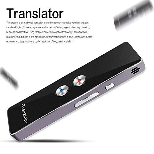 Portable Smart Voice Translator Two-Way Real Time Multi-Language Translation For Learning Travelling Business Meeting by Ronda