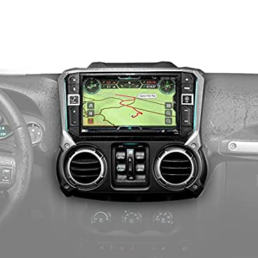 Alpine X209-WRA-OR 9 Restyle Navigation System with Off-Road Mode for Jeep Wrangler (2011-2018)