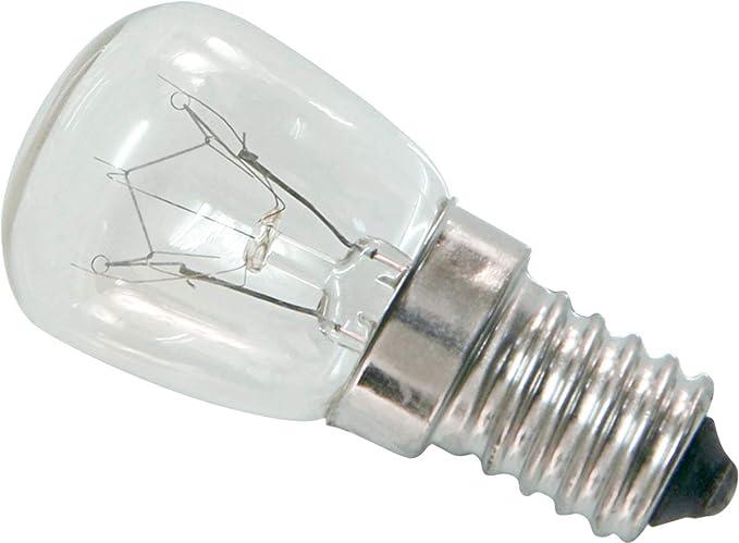 Mini bombilla de horno E14 15 W - Lámpara de horno ...