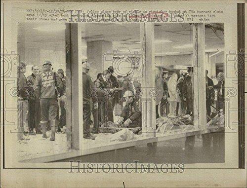 1975 Press Photo LaGuardia Airport Explosion Kills 12 - - Images Airport Laguardia