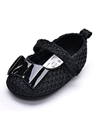 Baby Girls Bowknot Mary Jane Infant Sneaker Mesh Ballerina Toddler Shoes