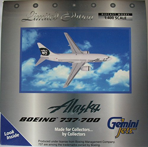 Gemini Jets Alaska Air Boeing 737-700 1:400 diecast model