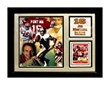 Encore Select 141-79 NFL San Francisco 49ers Joe Montana Card Frame, with Photo and Card, 11-Inch by 14-Inch
