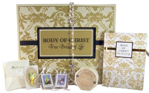 My First Holy Communion Deluxe Box Gift Set for Girls with Mass Book