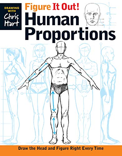 Figure It Out! Human Proportions: Draw the Head and Figure Right Every Time (Christopher Hart Figure It Out!)]()