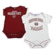 OuterStuff Missouri State Bears Baby Clothing, University 2 Piece Creeper Apparel Set