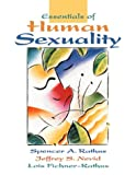 Essentials of Human Sexuality 1st Edition
