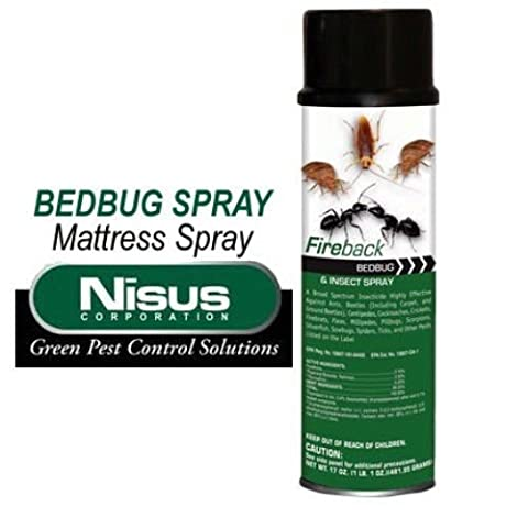 Bed Bug Spray BedBugs Mattress House Apartment Spray Bed Bug Treatment Spray (Fireback Bug Spray)